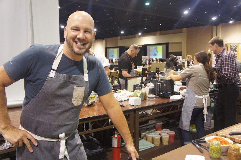Chef Kevin Fonzo of K Restaurant