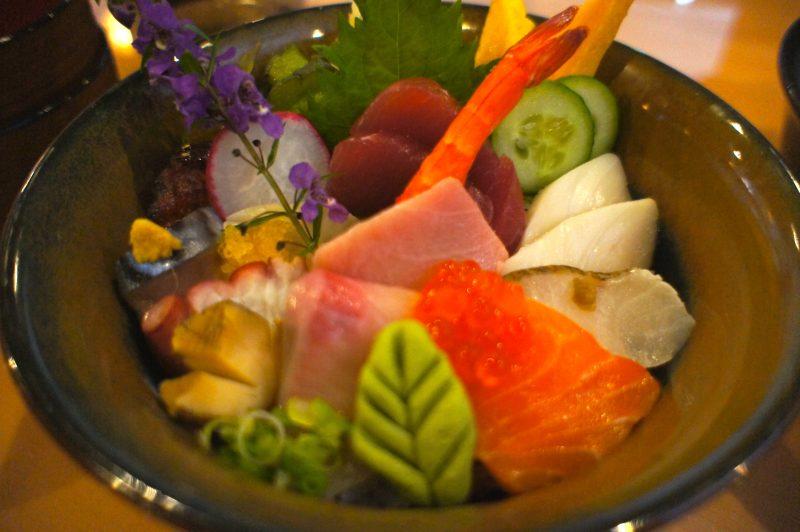 Wa Sushi Chirashi bowl
