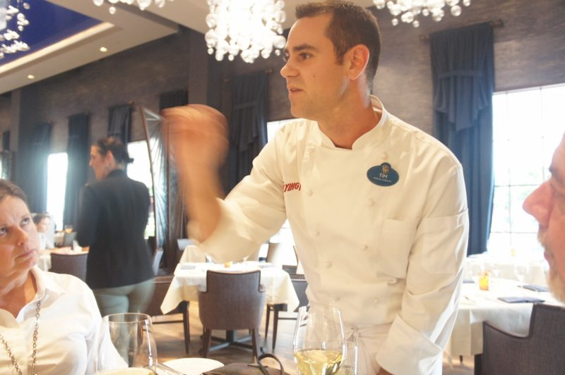 Chef Tim Majoras of Flying Fish at Disney's Boardwalk