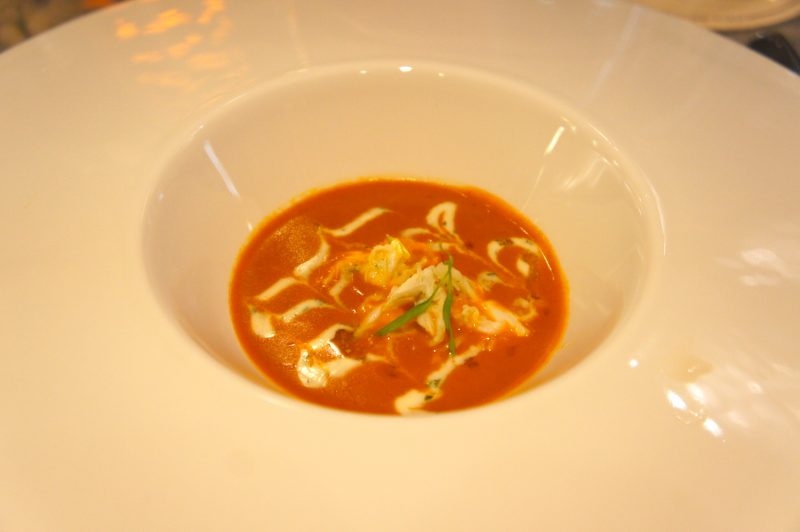 Blue Crab Bisque - Flying Fish at Disney's Boardwalk