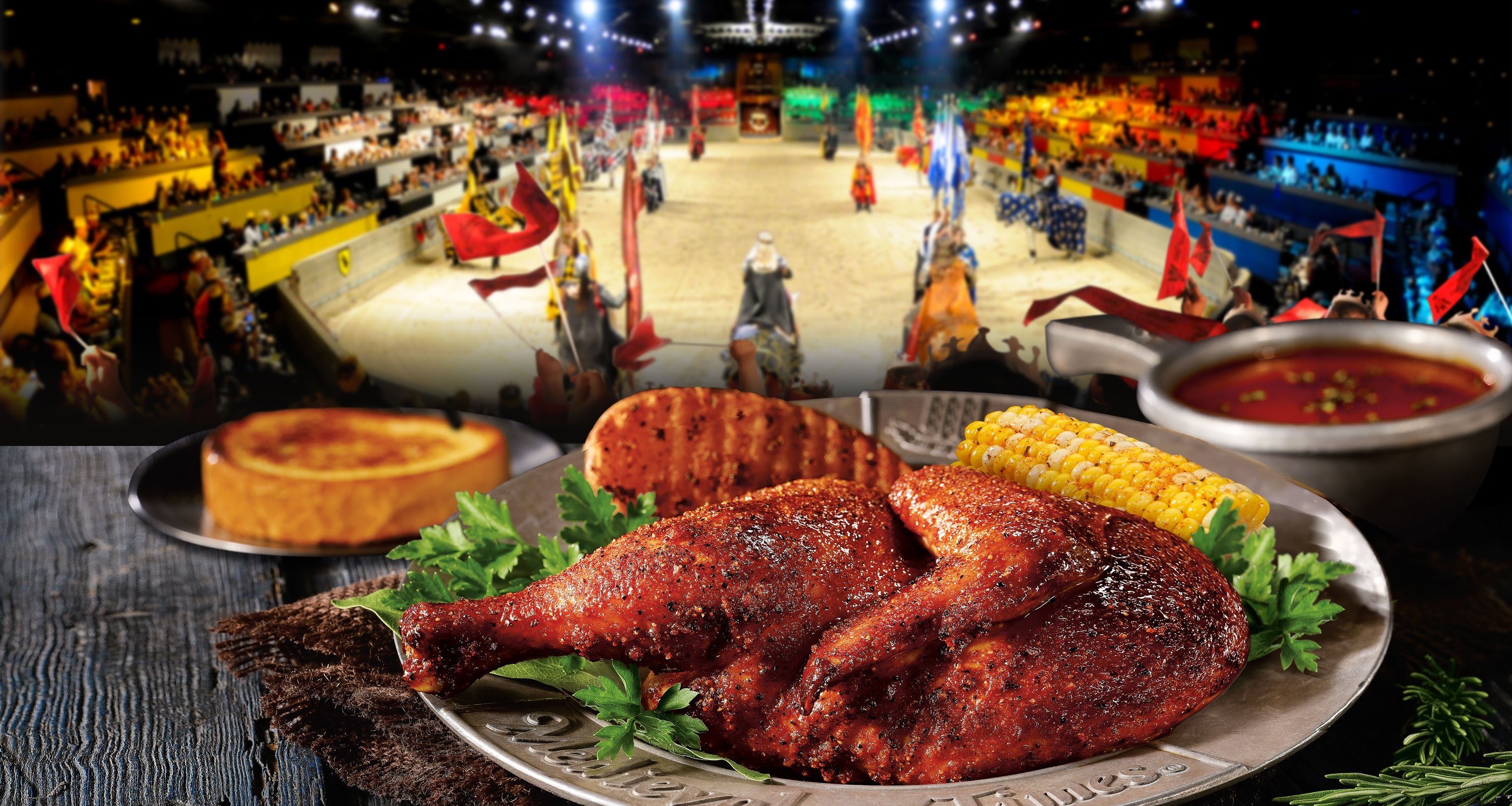 First Look: The Queen Reigns at Medieval Times | Tasty ...