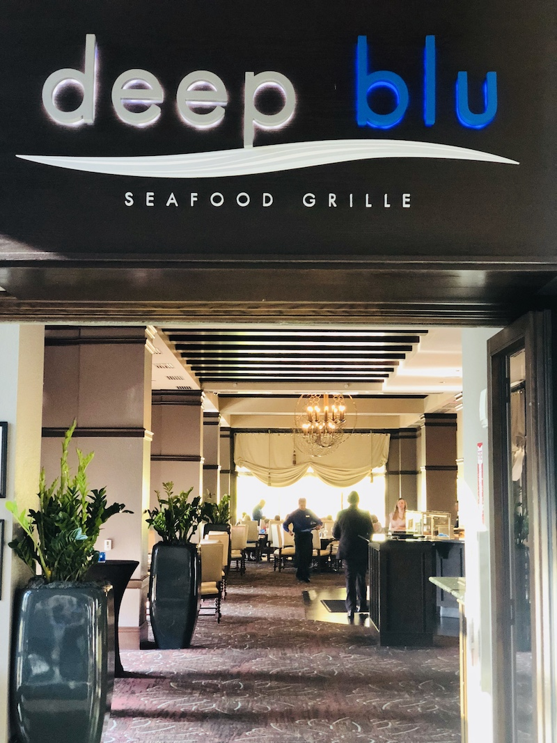 Interview: Chef Wade McLamb of deep blu seafood grille at
