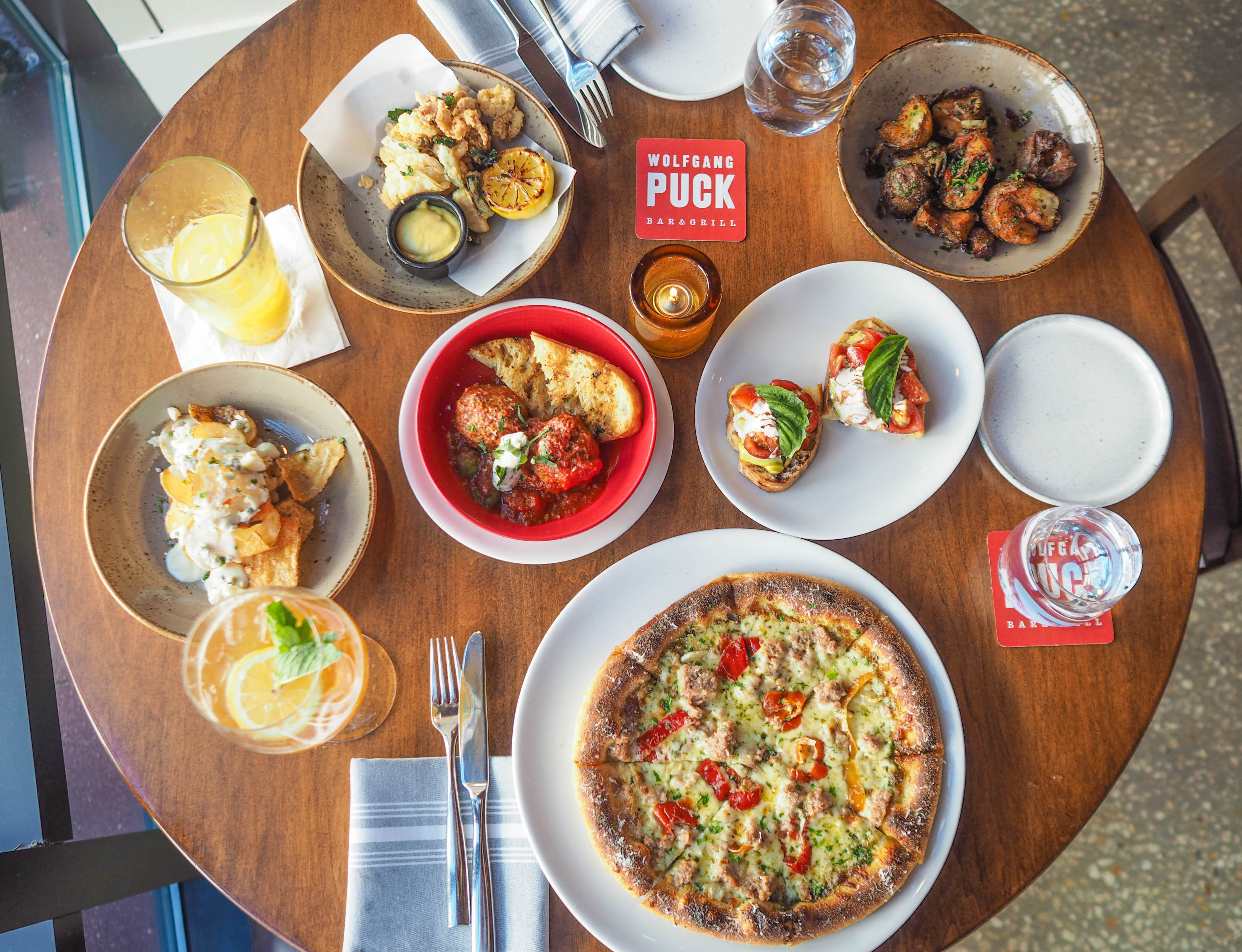 First Look: New Happy Hour Menu at Wolfgang Puck Bar & Grill