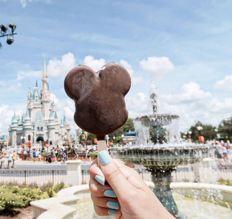 Mickey Bar Magic Kingdom