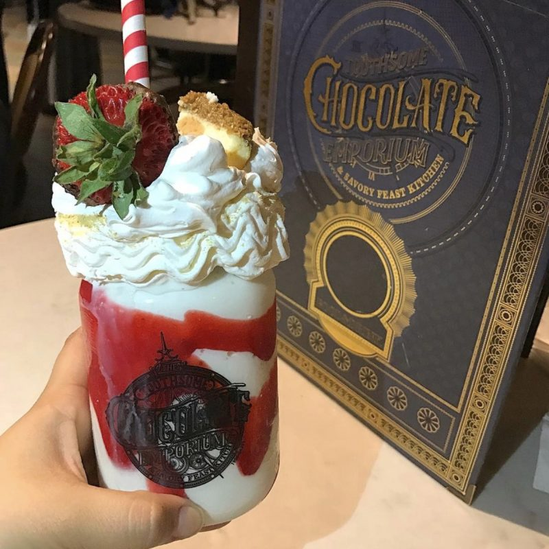 Toothsome Chocolate Emporium Milkshake